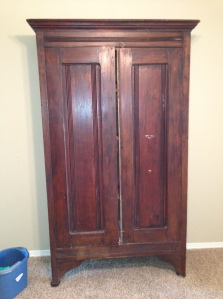 Armoire Before Doors Closed