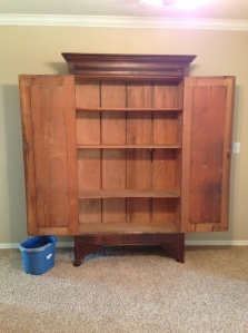 Armoire Before Doors Open