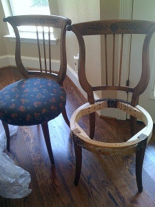 Chairs Before Recovering - Copy