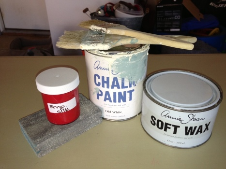 Desk Paint Supplies
