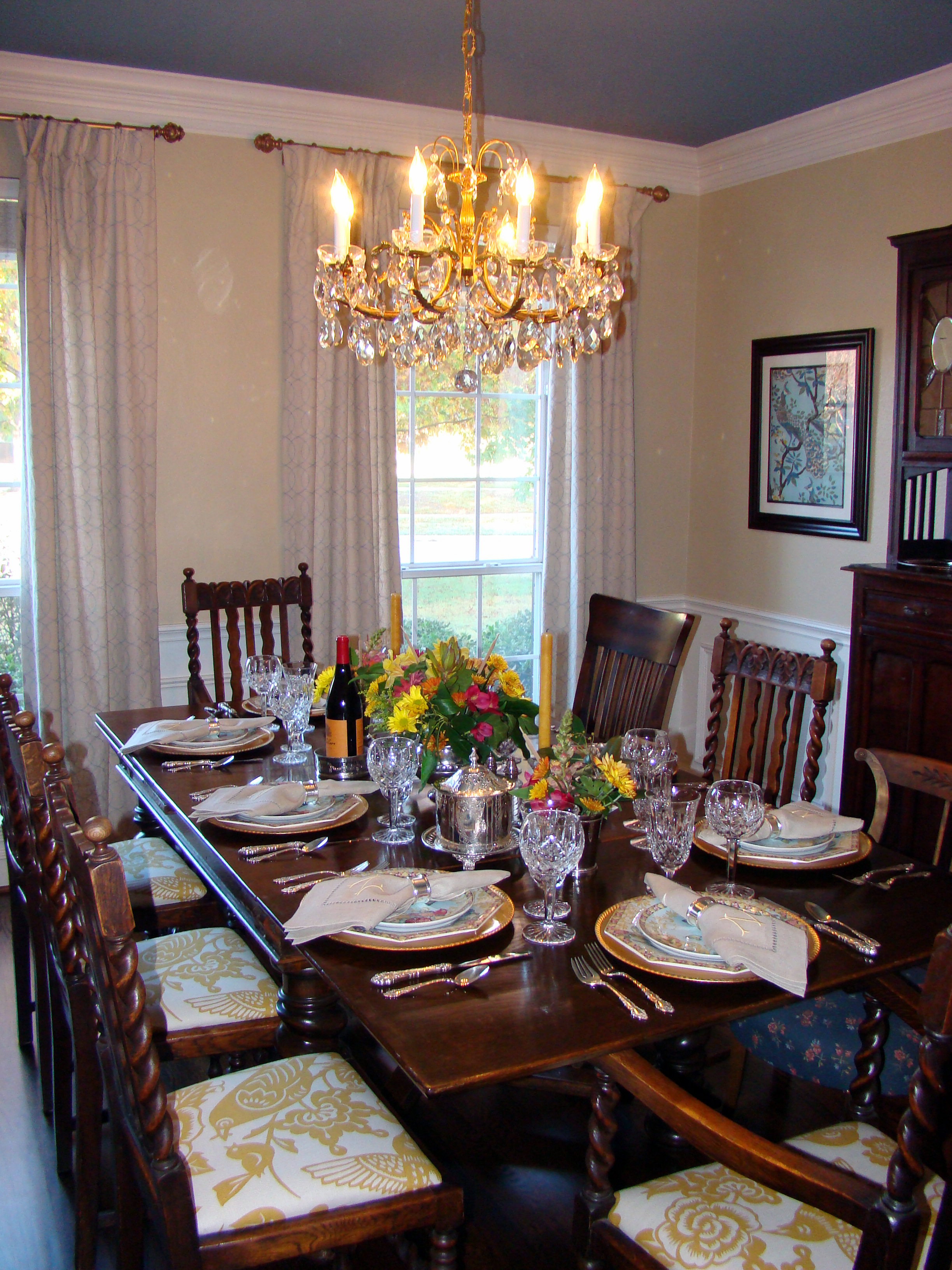 My happy place a dining room transformation a nester 39 s nest for My dining room