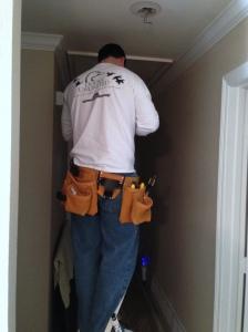 Husband Light Installation