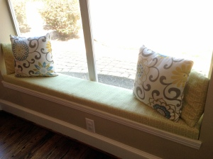 No Sew Window Seat After