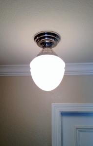 Single Hall Light After