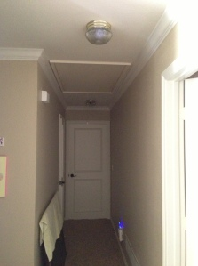 Upstairs Hallway Before Lights Off