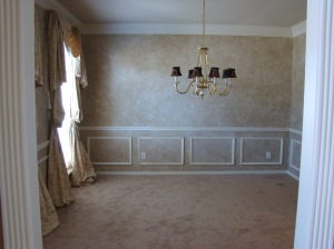 View into Dining Room from Entry