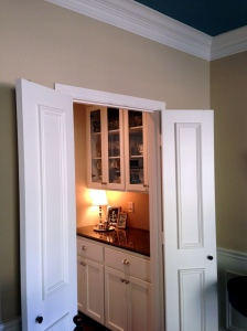 Butler's Pantry After from Dining Room