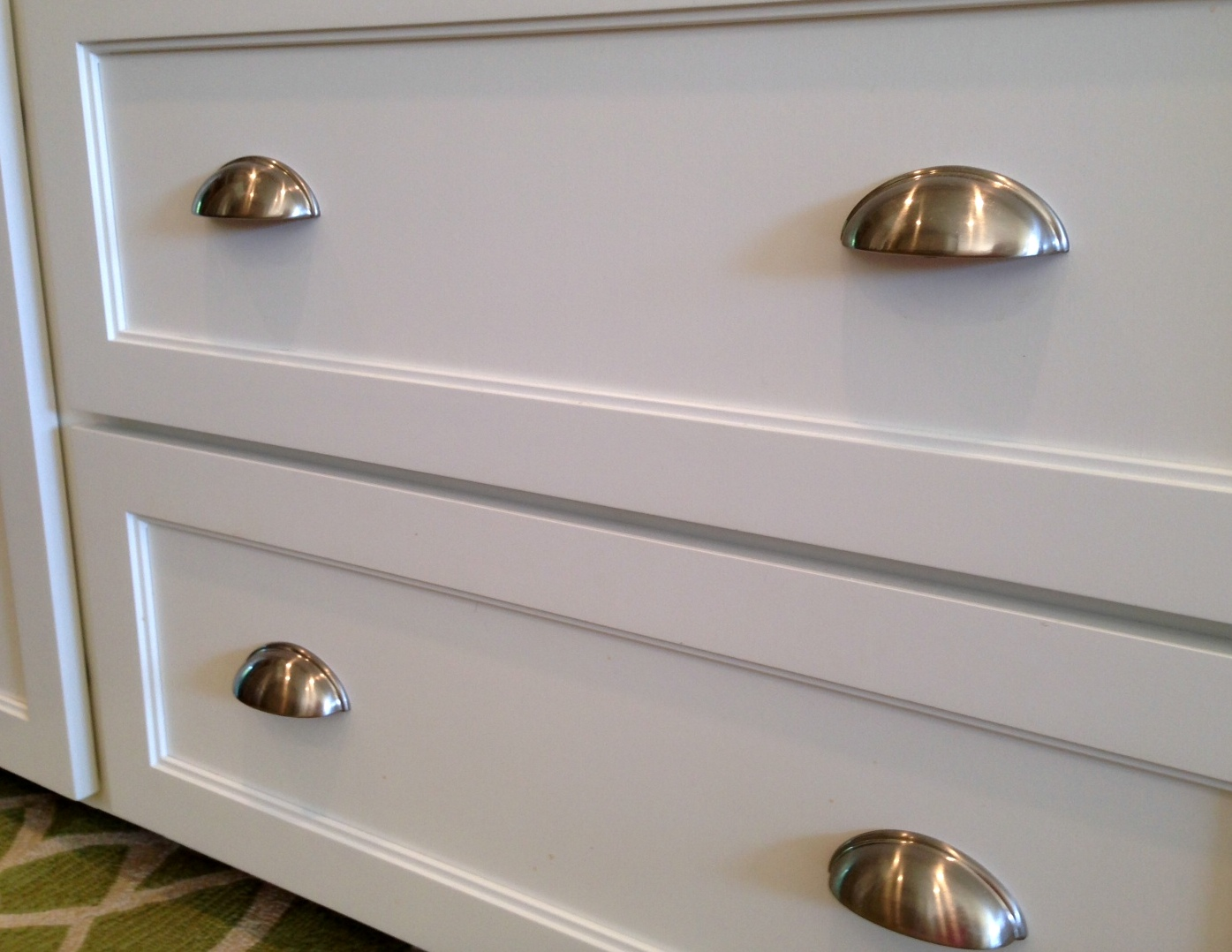 kitchen drawer pulls kitchen remodel before amp after a nester s nest 998