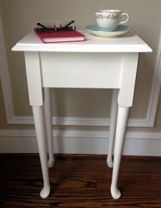 Painted Side Table Teacup Book 3