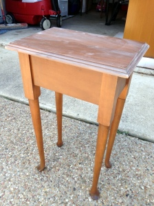 Side Table Lid Closed Before