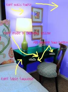 Chair in Bedroom C Design