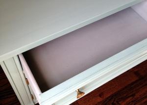 Vintage Bedside Table Drawer After