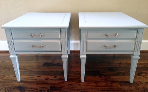 Hammary Vintage End Tables After
