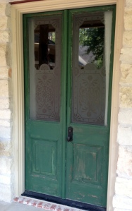 Mom Green Doors