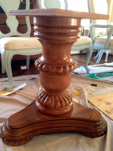 Pedestal Before