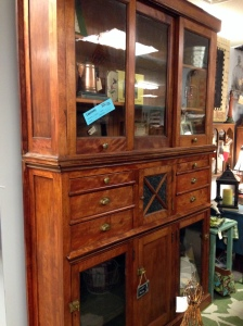 Antique Mall Hutch