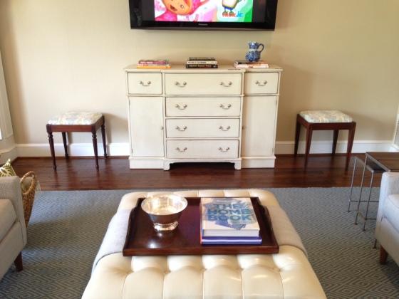 Family Room Media Cabinet