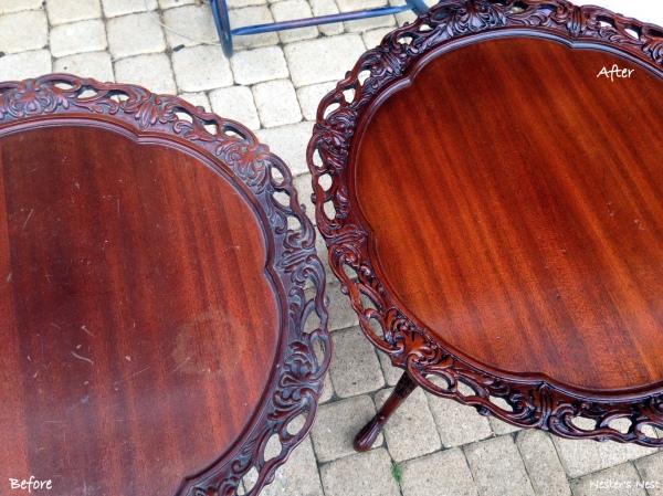 Restor A Finish Living Room Tables