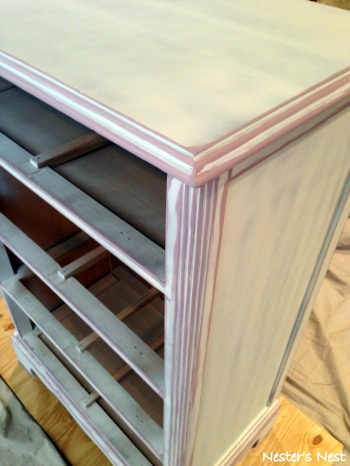 KD Dresser Primed with Lavender Base - NN