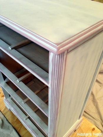 KD Dresser Primed with Lavender Base - NN