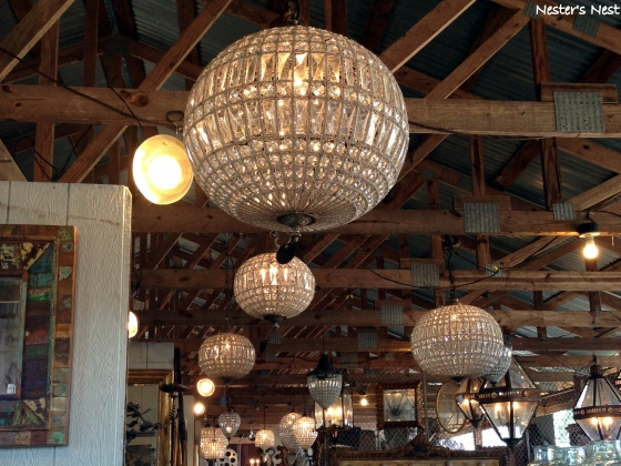 Chandeliers at Blue Hill - NN