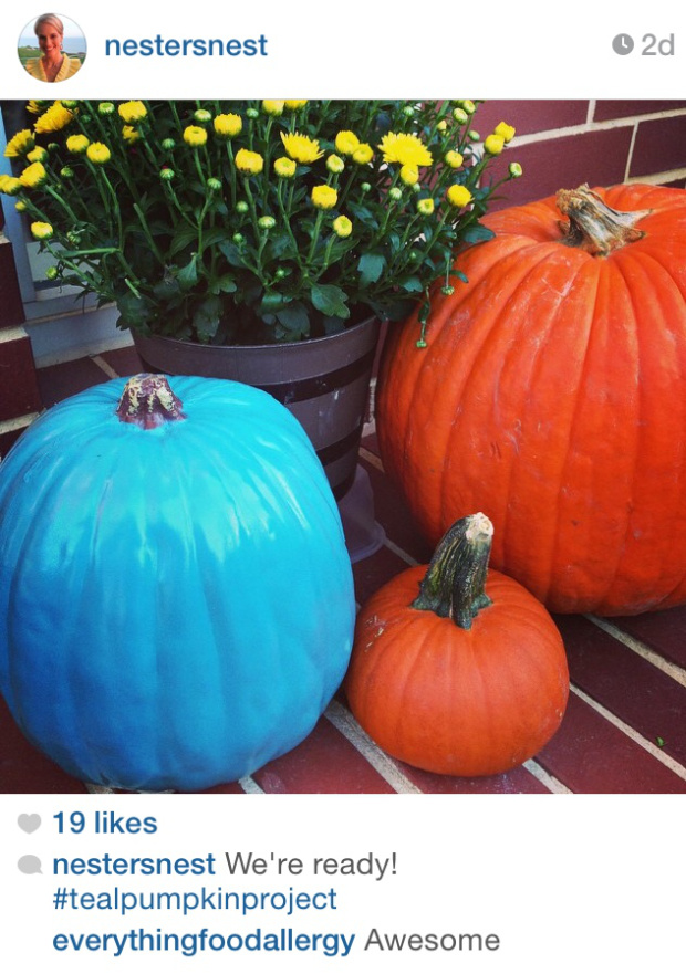 The Teal Pumpkin Project Takes Off A Nester S Nest